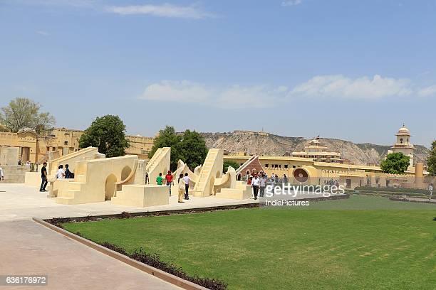 a view of historical Jantar Mantar in Jaipur Rajasthan India