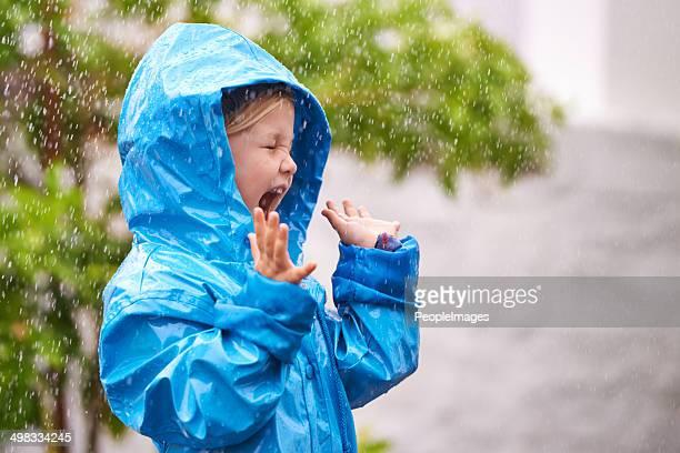 Aaaah, rain!