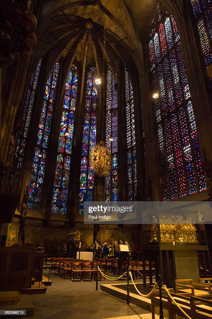Aachen Cathederal : Stock Photo