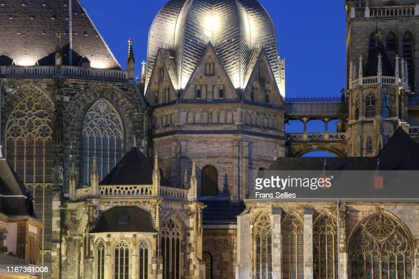 aachen cathedral (unesco world heritage), germany - aachen stock pictures, royalty-free photos & images