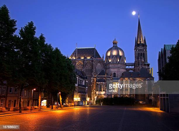 aachen cathedral (aachener dom) - aachen stock pictures, royalty-free photos & images
