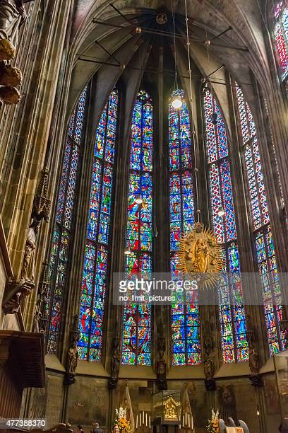 aachen cathedral - aachen stock pictures, royalty-free photos & images