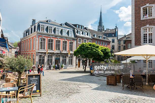 aachen historic city centre - aachen stock pictures, royalty-free photos & images