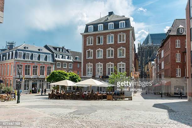 Aachen historic city centre