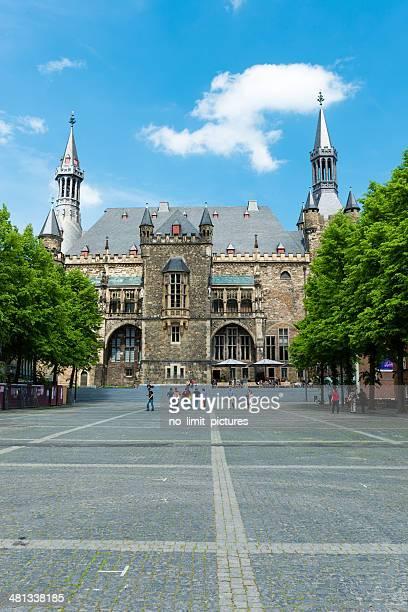 Aachen historic town hall