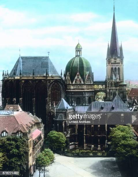 Aachen minster from the North 1920s