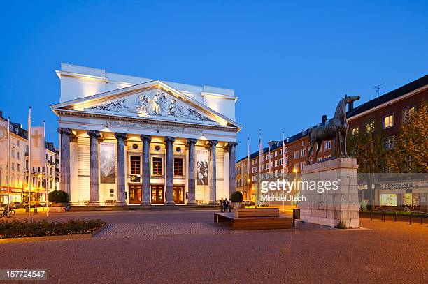 aachen theater - aachen stock pictures, royalty-free photos & images