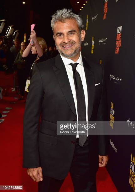 """Aadarsh Malde attends the Closing Night Screening of """"Nomis"""" during the 2018 LA Film Festival at ArcLight Cinerama Dome on September 28, 2018 in..."""