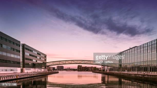 Aalborg University at sunset, Aalborg, Copenhagen, Denmark