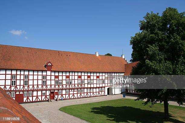 aalborghus castle in aalborg, denmark - aalborg stock pictures, royalty-free photos & images