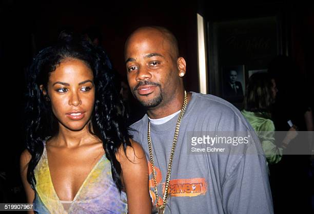 Aaliyah and Damon dash at the premiere of 'Planet of the Apes' New York July 23 2001
