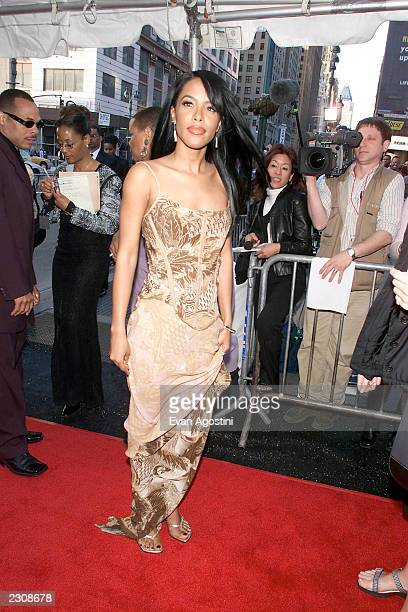 Aaliyah attends the Essence Awards 2001 at Madison Square Garden in New York City Photo Evan Agostini/ImageDirect