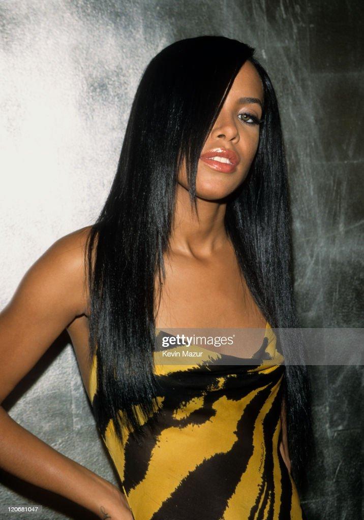 Aaliyah File Photos : News Photo