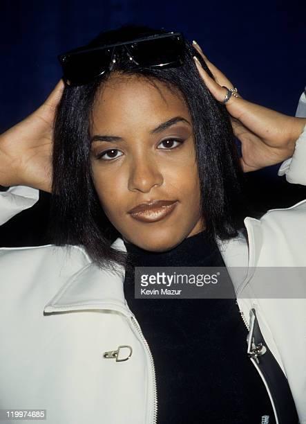 Aaliyah attends Urban Aid circa 1995