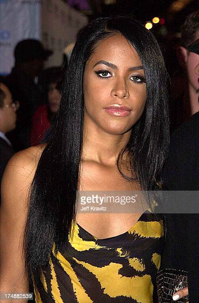 Aaliyah during 2000 MTV Video Music Awards at Radio City Music Hall in New York City New York United States