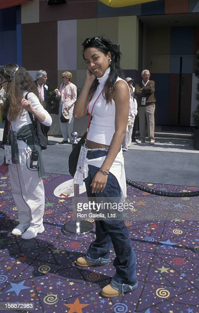 Aaliyah during Zany Brainy Education Works Celebration at Universal Studios in Hollywood California United States