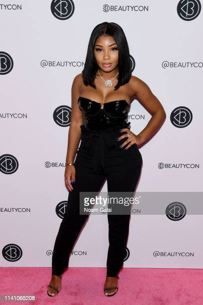 Aaliyah Jay attends Beautycon Festival New York 2019 at Jacob Javits Center on April 07 2019 in New York City