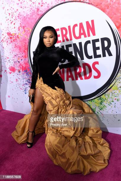 Aaliyah Jay attends the 2nd Annual American Influencer Awards at Dolby Theatre on November 18 2019 in Hollywood California