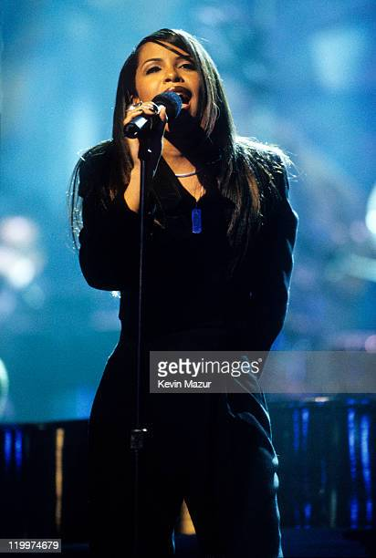 Aaliyah performs at TNT Presents 'A Gift of Song' circa 1997