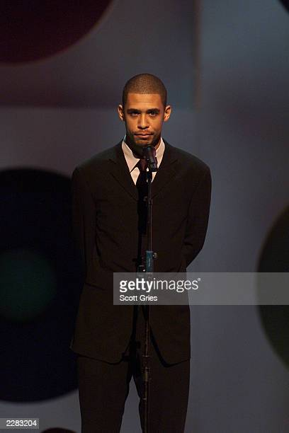 Aaliyah's brother onstage at the 2001 MTV Video Music Awards held at the Metropolitan Opera House at Lincoln Center in New York City on September 6...