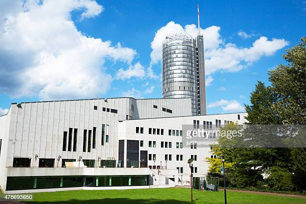 Aalto theater and RWE tower in Essen