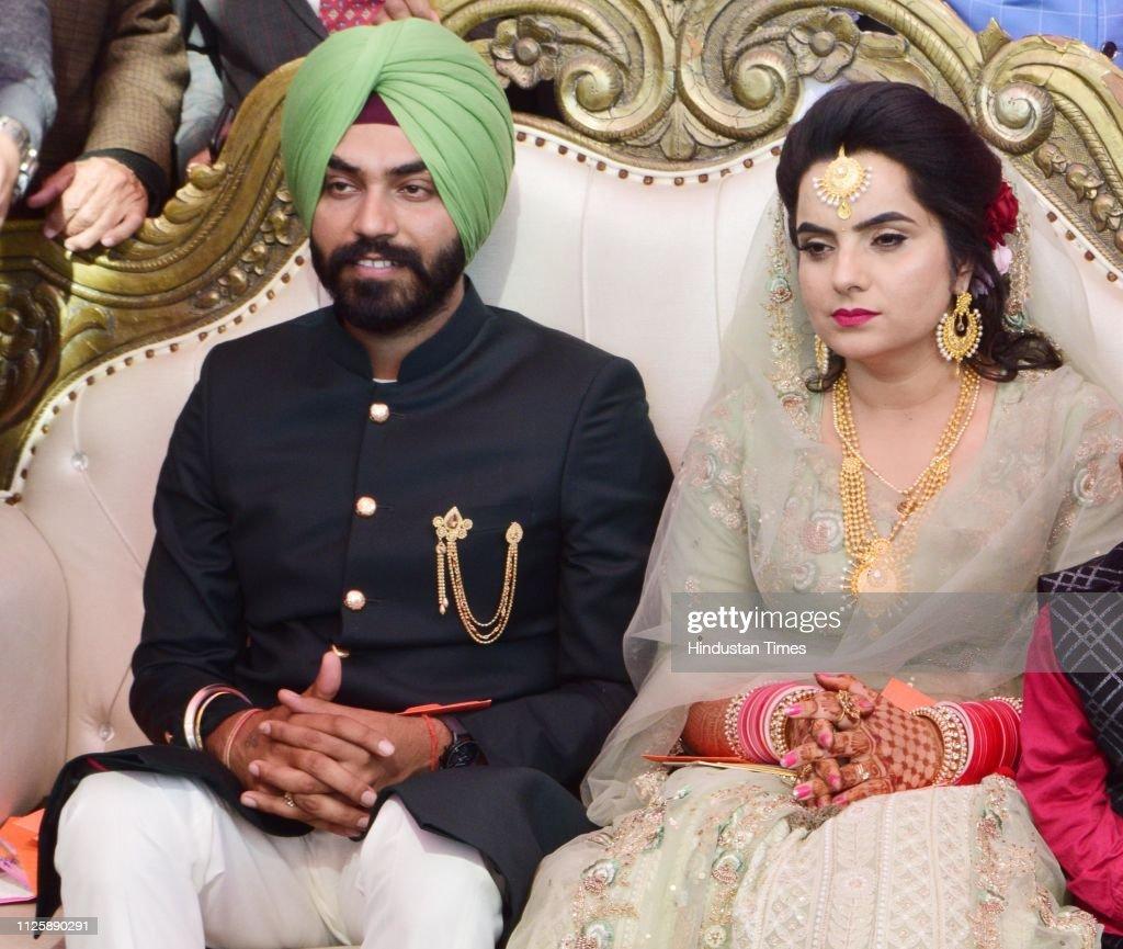 IND: Wedding Reception Of AAP MLA Baljinder Kaur And Youth Wing Convener Sukhraj Singh Bal