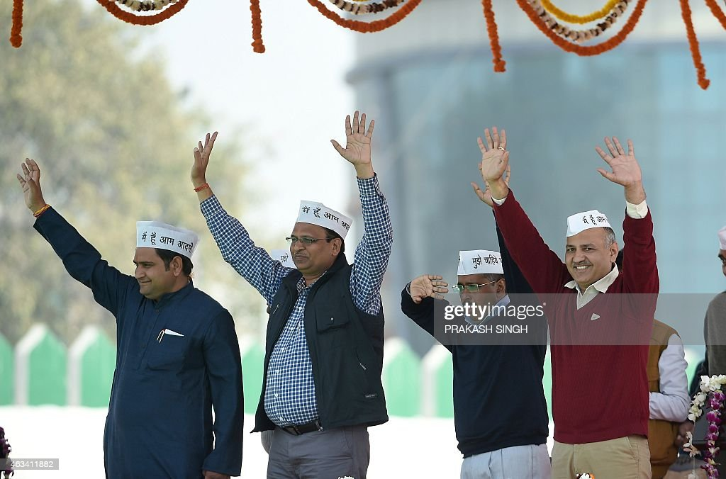 INDIA-POLITICS-DELHI : News Photo