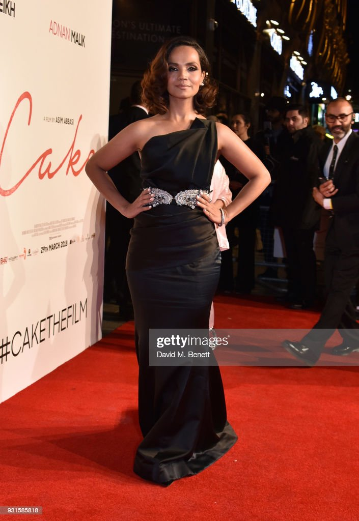 Aamina Sheikh attends the UK Premiere of 'Cake' at the Vue West End on March 13, 2018 in London, England.