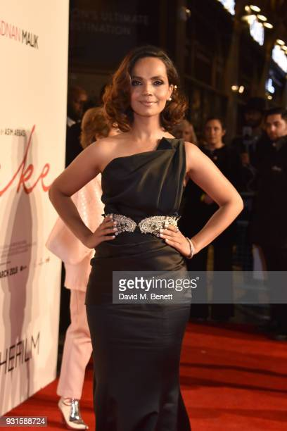 Aamina Sheikh attends the UK Premiere of 'Cake' at the Vue West End on March 13 2018 in London England