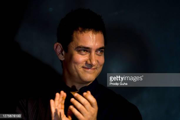Aamir Khan attends the music launch of the movie 'Peepli Live' on July 13, 2010 in Mumbai, India