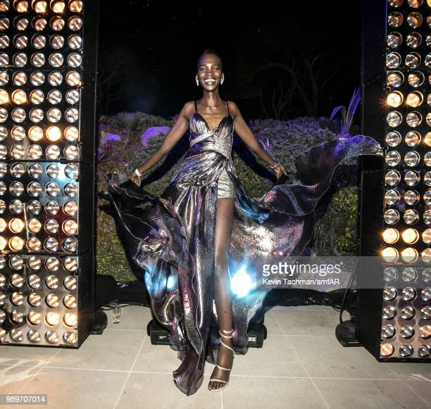 Aamito Lagum attends the amfAR Gala Cannes 2018 after party at Hotel du CapEdenRoc on May 17 2018 in Cap d'Antibes France