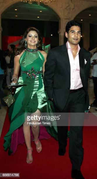 Aamna Sharif and Rajeev Khandelwal MTV style awards at NCPA