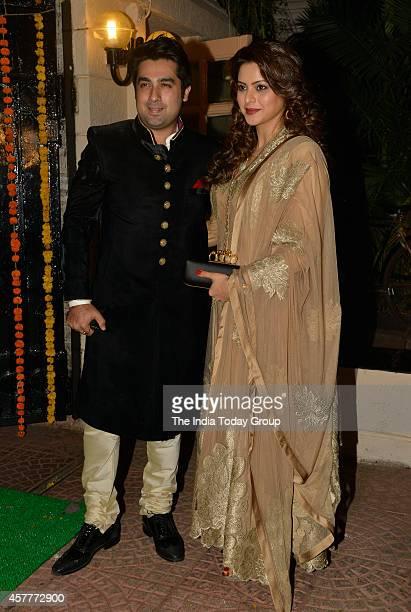 Aamna Sharif at Ekta Kapoors Diwali party in Mumbai