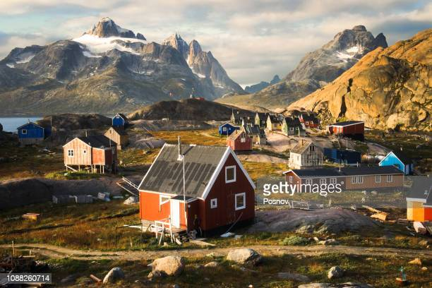 aappilattoq - greenland stock pictures, royalty-free photos & images
