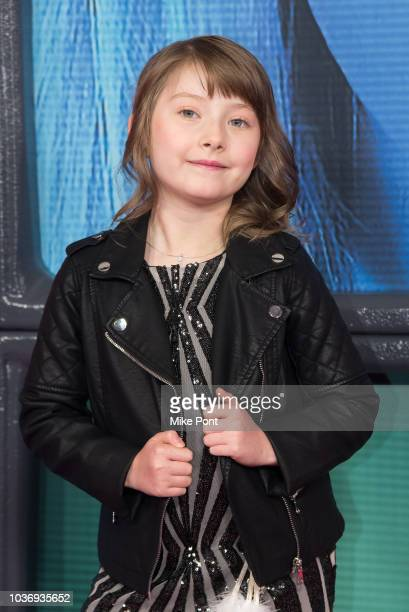 Aaralyn Anderson attends the 'Maniac' season 1 New York premiere at Center 415 on September 20 2018 in New York City