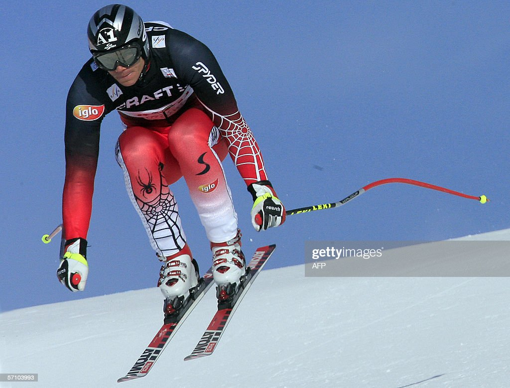 austrian michael walchhofer clears a jum pictures getty images