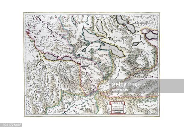 Aargau 1663 Aus dem Atlas Maior von Joan Blaeu Er erschien in mehreren Sprachausgaben zwischen 1665 und 1672 Wie andere Verleger hat Blaeu selbst nie...