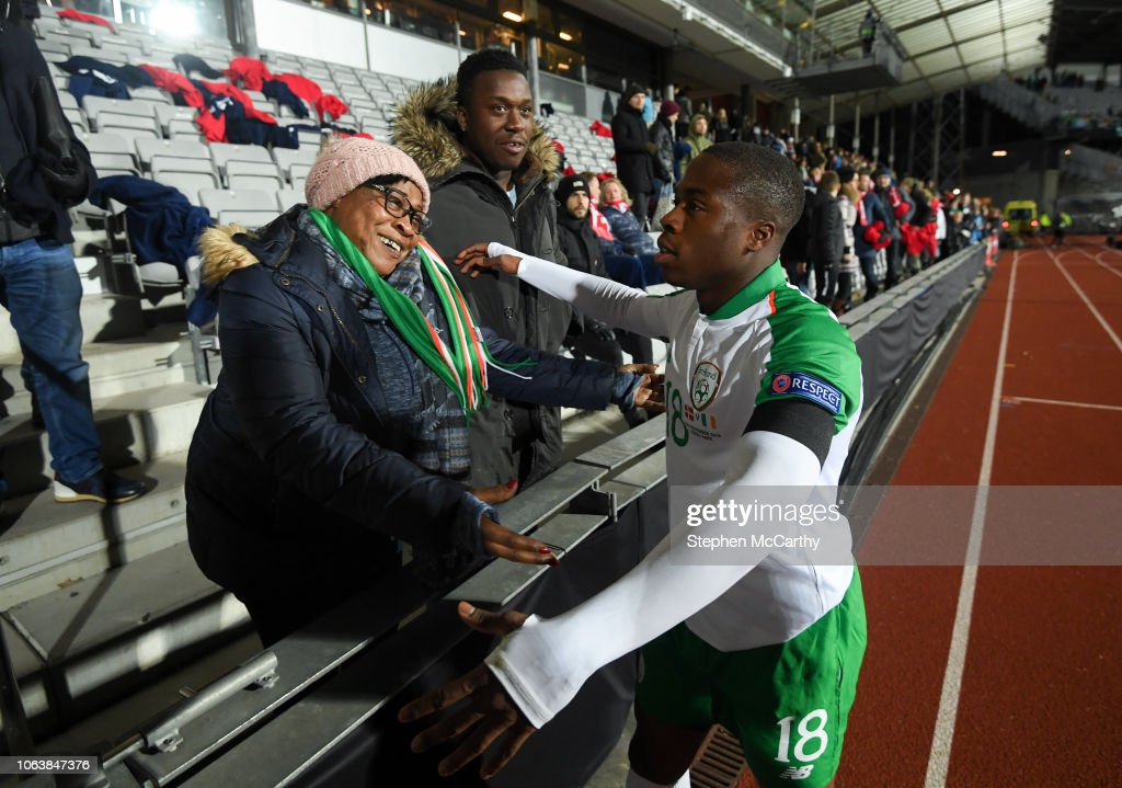 Denmark v Republic of Ireland - UEFA Nations League B : News Photo