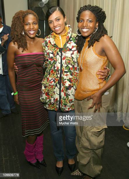Aaries and Amel Larrieux at The Launch Party For CocaCola's Real Campaign