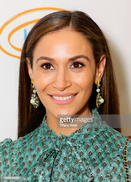 Aarin Spiegelman attends Lupus LA's Hollywood Bag Ladies Luncheon at the Beverly Hilton on November 16 2018 in Beverly H ills California