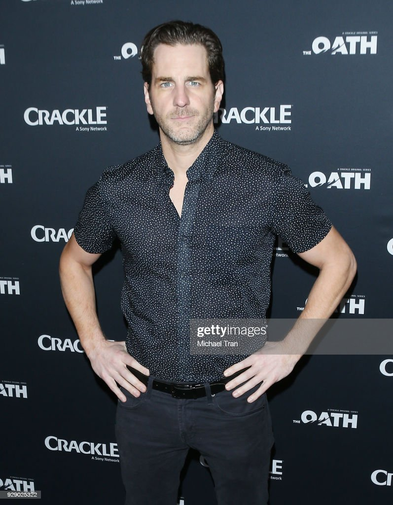 Aaron Abrams arrives to the Los Angeles premiere of Crackle's 'The Oath' held at Sony Pictures Studios on March 7, 2018 in Culver City, California.