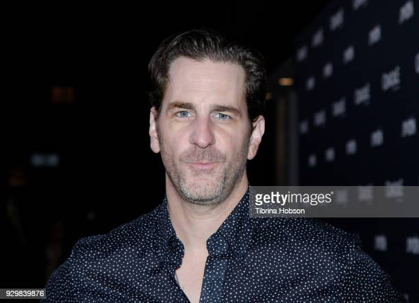 Aaron Abrams attends the premiere of Crackle's 'The Oath' at Sony Pictures Studios on March 7 2018 in Culver City California