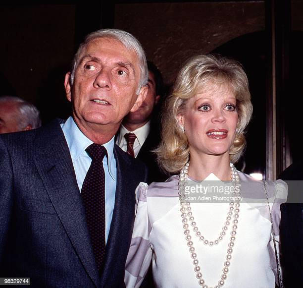 Aaron and Candy Spelling attend a private showing of The Dynasty Collection on Sept 19 1987 in Los Angeles California The showing is to showcase some...