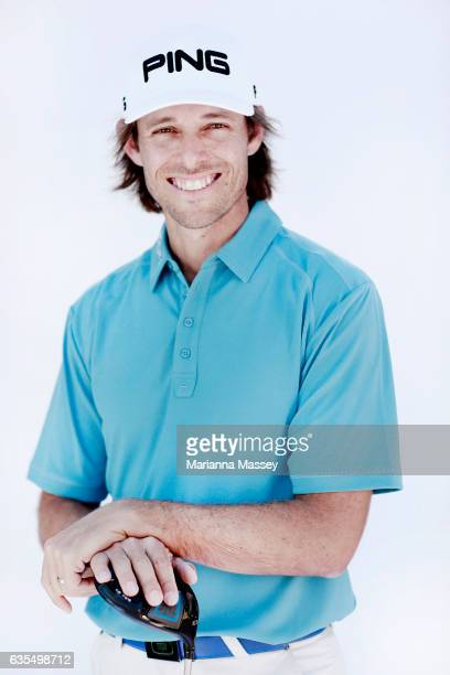 Aaron Baddeley of Australia poses for a portrait ahead of the Genesis Open at The Riviera Country Club on February 14 2017 in Pacific Palisades...
