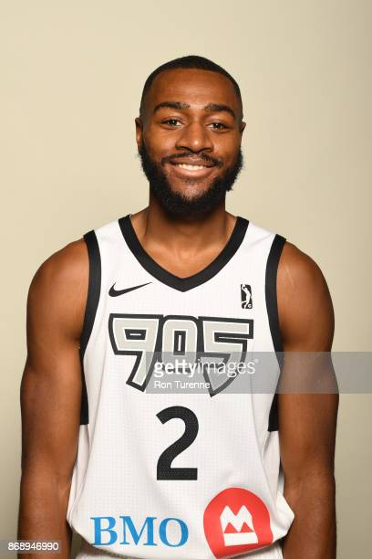 Aaron Best of the Raptors 905 poses for a head shot during NBA GLeague media day on October 31 2017 at the Hershey Centre in Mississauga Ontario...