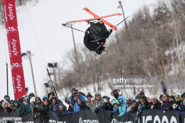 Aaron Blunck of USA wins the gold medal during the FIS World Freestyle Ski Championships Men's and Women's Halfpipe on February 9, 2019 in Park City,...