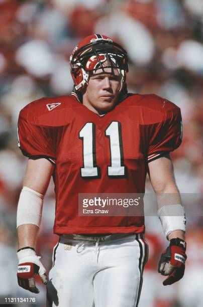 Aaron Brady, Linebacker for the Rutgers University Scarlet Knights during the NCAA Big East Conference college football game against the Tulane...
