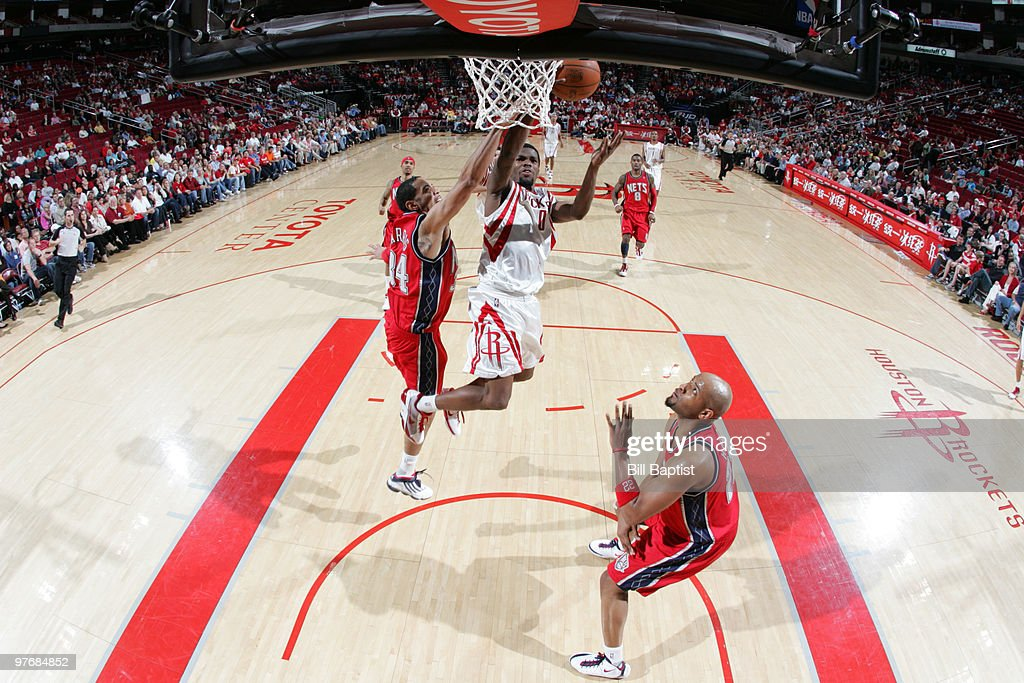 New Jersey Nets v Houston Rockets