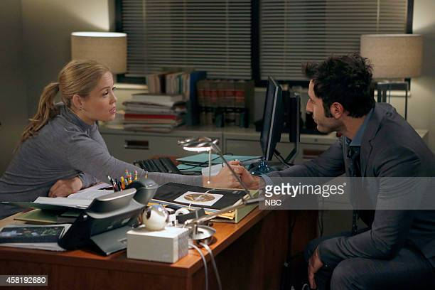 PARENTHOOD Aaron Brownstein Must Be Stopped Episode 608 Pictured Erika Christensen as Julie BravermanGraham Coby Ryan McLaughlin as Chris Jeffries