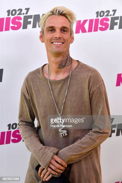 Aaron Carter arrives at the 1027 KIIS FM's 2017 Wango Tango at StubHub Center on May 13 2017 in Carson California